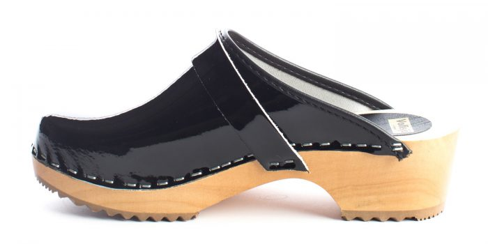 swedish clogs australia shoes clogs patent leather black wooden handmade love of clogs sale buy online