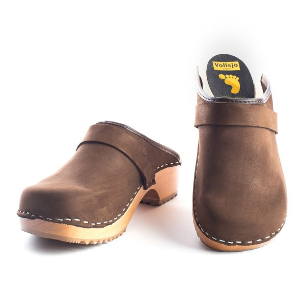 swedish clogs australia shoes brown leather nubuck wooden handmade love of clogs sale buy online