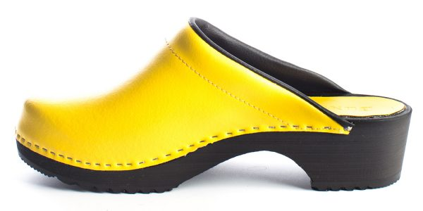 swedish clogs australia shoes leather yellow wooden handmade love of clogs garden sale buy online