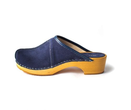 swedish clogs australia shoes clogs blue leather nubuck wooden handmade love of clogs sale buy online