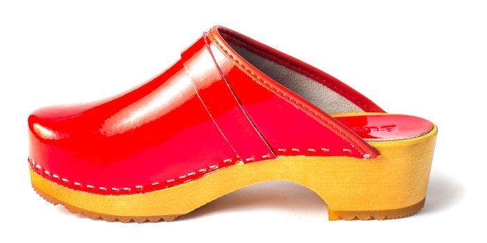 sweedish clogs australia shoes clogs leather red patent wooden handmade love of clogs sale buy online