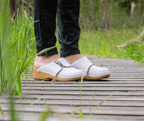 clogs australia shoes leather white wooden handmade love of clogs garden sale buy online