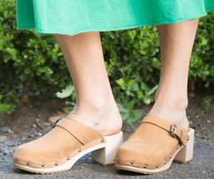 clogs australia shoes light brown leather nubuck wooden handmade love of clogs sale buy online