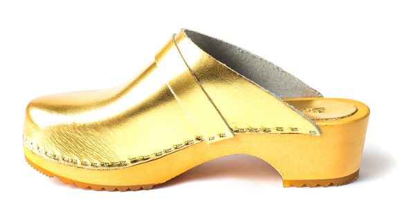 swedish clogs australia shoes clogs sandals gold leather wooden handmade love of clogs sale buy online