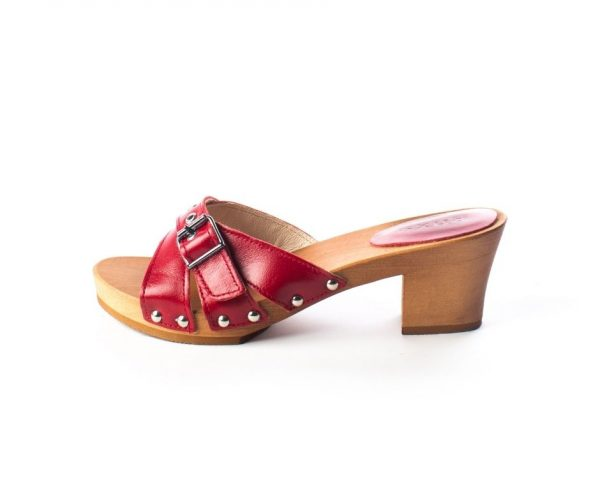swedish clogs australia shoes sandals red leather wooden handmade love of clogs sale buy online